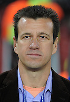 Brazil manager Dunga. Brazil defeated South Africa 1-0 during the semi-finals of the FIFA Confederations Cup at Ellis Park Stadium in Johannesburg, South Africa on June 25, 2009..