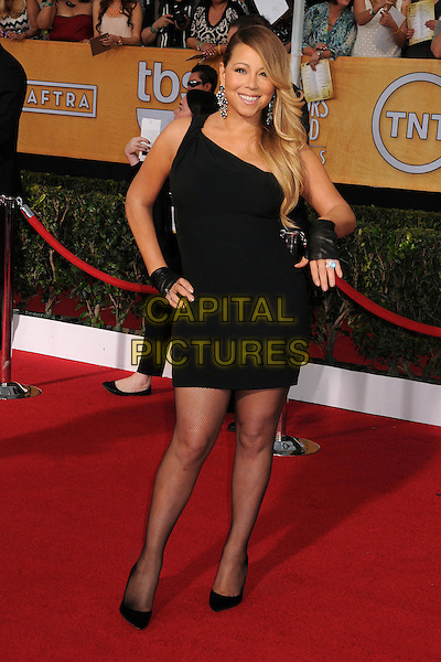 18 January 2014 - Los Angeles, California - Mariah Carey. 20th Annual Screen Actors Guild Awards - Arrivals held at The Shrine Auditorium. Photo Credit: Byron Purvis/AdMedia<br /> CAP/ADM/BP<br /> ©Byron Purvis/AdMedia/Capital Pictures
