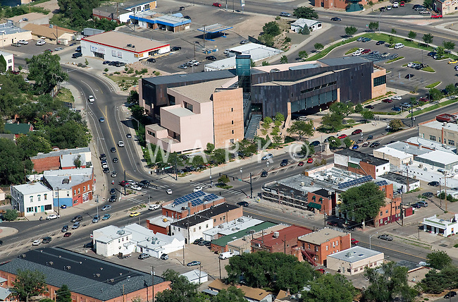 aerial of Rawlings Library