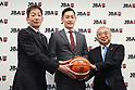 Basketball : Japan Basketball Association Press Conference