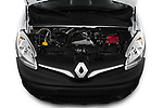 Car stock 2019 Renault Kangoo Energy Extra 4 Door Car van engine high angle detail view