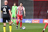 Luke Prosser of Stevenage FC during Stevenage vs Barrow, Sky Bet EFL League 2 Football at the Lamex Stadium on 27th March 2021