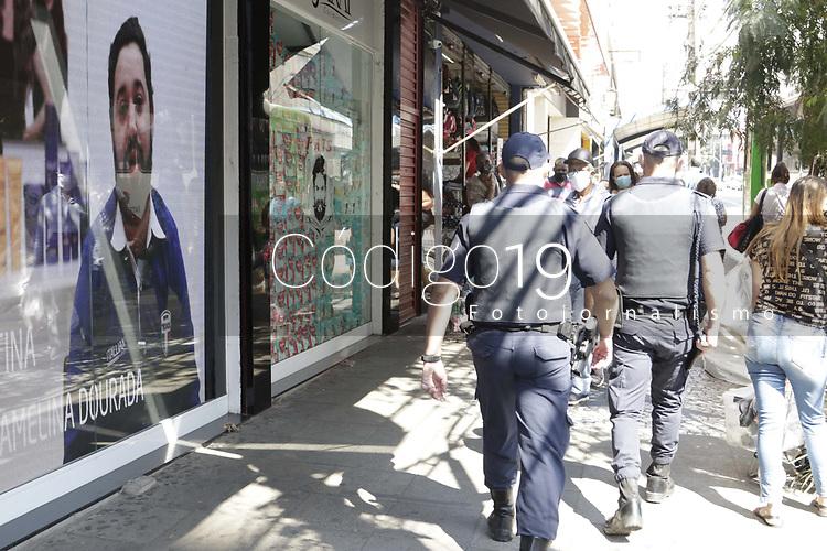Campinas - SP, 10/08/2020 - Comercio - Movimentacao de pedestres na av Campos Salles, na cidade de Campinas (SP), nesta segunda-feira (10).. Foto: Denny Cesare/Codigo 19 (Foto: Denny Cesare/Codigo 19/Codigo 19)