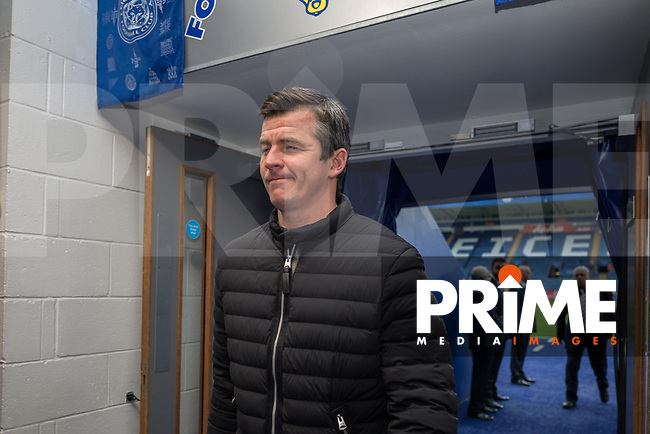 Joey Barton (Manager) of Fleetwod Town ahead of the English League Cup Round 2 Group North match between Leicester City and Fleetwood Town at the King Power Stadium, Leicester, England on 28 August 2018. Photo by David Horn.