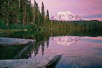 Mt. Adams from Takhlakh Lake<br /> Gifford Pinchot National Forest<br /> Cascade Range<br /> Washington