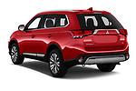 Car pictures of rear three quarter view of 2020 Mitsubishi Outlander SEL 5 Door SUV Angular Rear