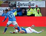 Kenny Miller tackles Daniel Carmichael
