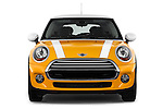 Straight front view of a 2014 MINI Cooper Hardtop 3 Door Hatchback
