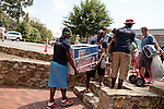 "August 20, 2011. Chapel Hill, NC.. Members of the Kappa Alpha Psi fraternity chapter on the UNC campus were recruited as volunteers by the American Eagle student ""brand ambassadors"" to help raise awareness of the brand by handing out coupons and helping incoming students move into their dorm rooms.. Many companies have increased their efforts to reach the youth market by employing popular college students to raise the awareness of the brand by peer to peer marketing on campus' around the country."