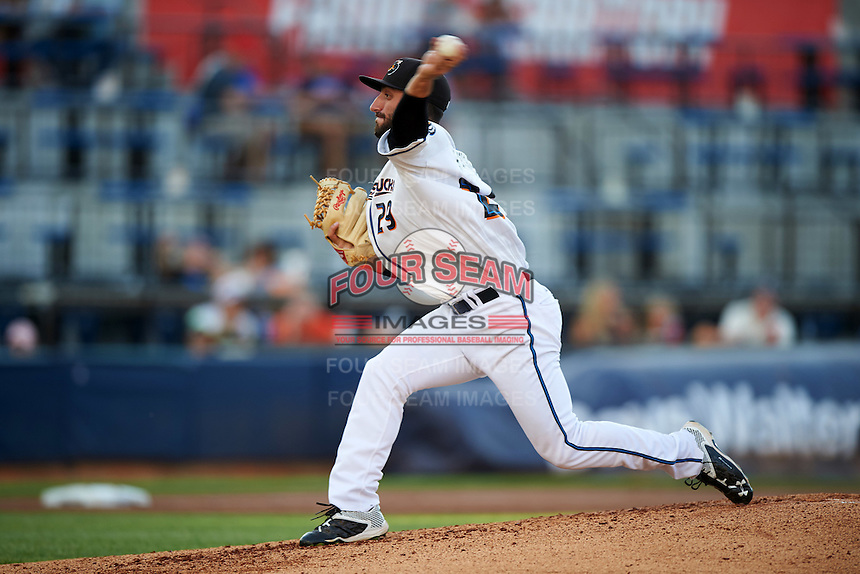 Akron RubberDucks starting pitcher Rob Kaminsky (29) during a game against the Richmond Flying Squirrels on July 26, 2016 at Canal Park in Akron, Ohio .  Richmond defeated Akron 10-4.  (Mike Janes/Four Seam Images)