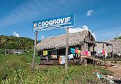 Xingu River, Para State, Brazil. The Volta Grande; Ressaca settlement, old garimeiro illegal gold-mining town.