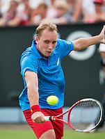 18-06-13, Netherlands, Rosmalen,  Autotron, Tennis, Topshelf Open 2013, , Steve Darcis<br /> <br /> Photo: Henk Koster