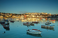 St Ives Harbour at dawn, St Ives, Cornwall<br /> <br /> Copyright www.scottishhorizons.co.uk/Keith Fergus 2011 All Rights Reserved