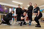 Dancing with delight at the new Inspired offices in Brandon Court on Thursday after they participated in the Virtual Zumathon held last Saturday. Kneeling l to r: Liam Purcell and Eoin O'Sullivan. Standing l to r: Steven Buckley, Labhaoise O'Connor, Fiona McCarthy and David Malone.