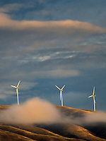Windmills near the Columbia River Gorge, Oregon