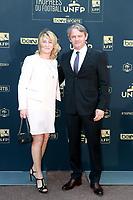 Sylvain Kastendeuch & sa femme - 26EME CEREMONIE DES TROPHEES DU FOOTBALL UNFP