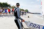 Rio de Janeiro Olympic Test Event - Fédération Française de Voile. Medal Race, Laser, Bernaz.