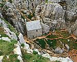 St Saint Govans Chapel, Nr Bosherton, Pembrokshire Wales. Uk. Celtic Britain published by Orion