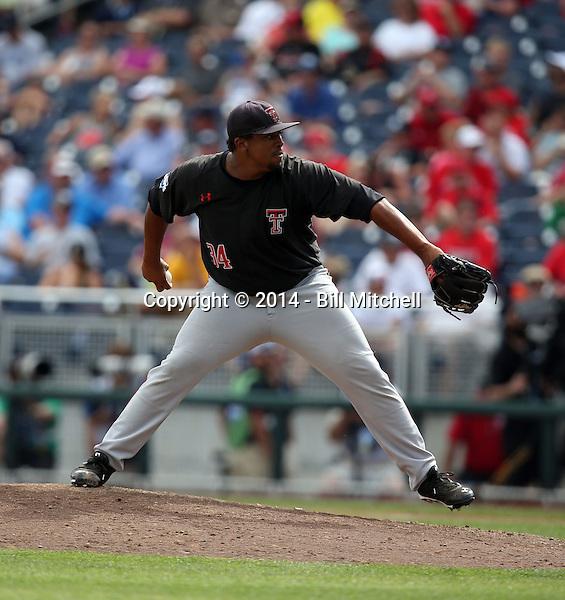 Corey Taylor - 2014 Texas Tech Red Raiders (Bill Mitchell)