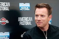 Ewan McGregor <br /> Roma 03-10-2016. Photocall del film American Pastoral<br /> Rome 3rd October 2016. American Pastoral Photocall<br /> Foto Samantha Zucchi Insidefoto