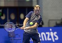 Rotterdam, Netherlands, December 13, 2016, Topsportcentrum, Lotto NK Tennis,  Kevin Boelhouwer  (NED) <br /> Photo: Tennisimages/Henk Koster