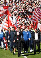 Fudbal, Jelen super liga, sezona 2010/11.Derby, Derbi.Crvena Zvezda Vs. Partizan.Head coach Aleksandar Kristic, center.Belgrade, 23.10.2010..foto: Srdjan Stevanovic/Starsportphoto ©