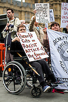 """11.09.2014 - """"National Day of Protest Against Sanctions, Bedroom Tax & Benefit Cuts"""""""