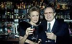CARLA DE MARTINO E BERTHOLD VON STOHRER<br /> COMPLEANNO ELSA MARTINELLI AL JEFF BLYNN'S   ROMA 2000