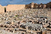 Leptis Magna, Libya - Severan Forum, 3rd. century.