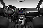 Straight dashboard view of a 2010 - 2014 Audi TT RS 3 Door Coupe 4WD.
