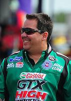 May 1, 2011; Baytown, TX, USA: NHRA funny car crew chief Dean Antonelli during the Spring Nationals at Royal Purple Raceway. Mandatory Credit: Mark J. Rebilas-
