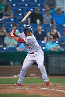 Reading Fightin Phils catcher Jorge Alfaro (11) at bat during a game against the Portland Sea Dogs on May 31, 2016 at Hadlock Field in Portland, Maine.  Reading defeated Portland 6-4.  (Mike Janes/Four Seam Images)