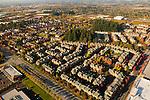 Aerial of housing, Tanasbourne, Oregon