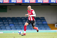 Jake Caprice of Exeter City during Southend United vs Exeter City, Sky Bet EFL League 2 Football at Roots Hall on 10th October 2020