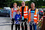 Working hard behind the scenes at Ryan's Motor Memorial Tractor and Car run in Miltown on Sunday, l to r: Ian, Josh and John Neligan and Ivor Ferris