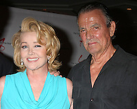 "LOS ANGELES - AUG 15:  Melody Thomas Scott, Eric Braeden at the ""The Young and The Restless"" Fan Club Event at the Universal Sheraton Hotel on August 15, 2015 in Universal City, CA"
