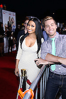 """WESTWOOD, LOS ANGELES, CA, USA - APRIL 21: Nicki Minaj, Lance Bass arrive at the Los Angeles Premiere Of Twentieth Century Fox's """"The Other Woman"""" held at the Regency Village Theatre on April 21, 2014 in Westwood, Los Angeles, California, United States. (Photo by David Acosta/Celebrity Monitor)"""
