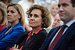 """Dolors Monserrat in the presentation of the book """"Cada dia tiene su afan"""" by former minister Jorge Fernandez Diaz with Mariano Rajoy<br /> October 10, 2019. <br /> (ALTERPHOTOS/David Jar)"""