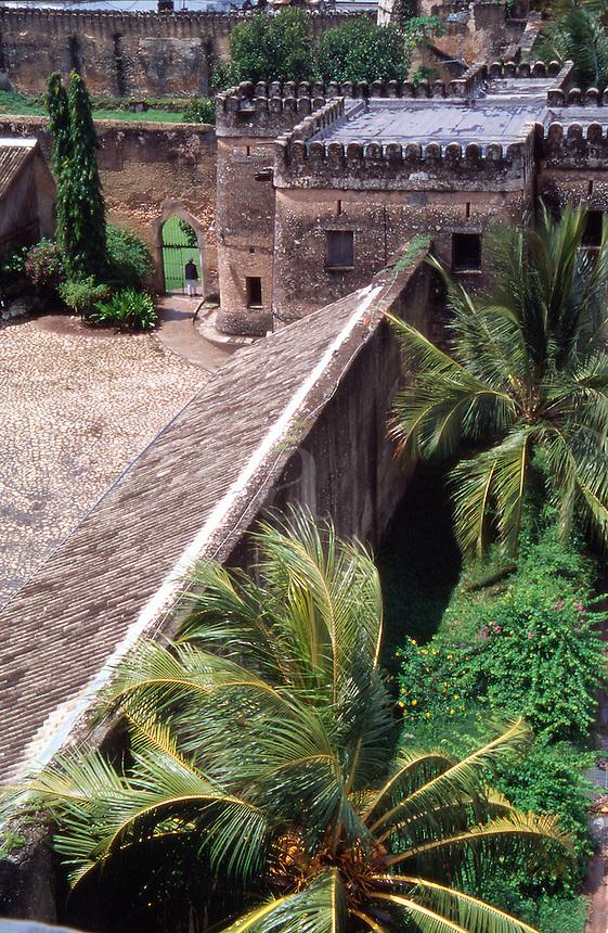 Tanzania Zanzibar The old Arab fort in Stone Town