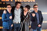 """Berto Romero, Dani de la Orden, Belen Cuesta and Andre Buenafuente during the presentation of the film """"El Pregón"""" in Madrid, March 15, 2016<br /> (ALTERPHOTOS/BorjaB.Hojas)"""
