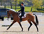 April 22, 2021: 34 Cooley Master Class and rider Oliver Townend finish 2nd on the leaderboard for day 1 of 5* Dressage  at the Land Rover Three Day Event at the Kentucky Horse Park in Lexington, KY on April 22, 2021.  Candice Chavez/ESW/CSM