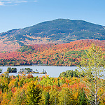 Moose Mountain over Moosehead Lake in Piscataquis County, ME, USA