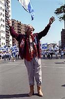 FILE - Michel Barrette a un defile de la Saint-Jean dans les annees 90<br /> <br /> (date inconnue ,  circa 1993)<br /> <br /> <br /> PHOTO  :  Agence Quebec Presse