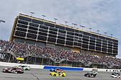 2017 Monster Energy NASCAR Cup Series - Fold of Honor QuikTrip 500<br /> Atlanta Motor Speedway, Hampton, GA USA<br /> Sunday 5 March 2017<br /> Gray Gaulding and Corey LaJoie<br /> World Copyright: Nigel Kinrade/LAT Images<br /> ref: Digital Image 17ATL1nk08277