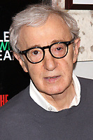 NEW YORK, NY- FEBRUARY 28: Woody Allen arrives for the opening of The Revisionist, held at the Cherry Lane Theatre, on February 28, 2013, in New York City. Credit: Joseph Marzullo/MediaPunch
