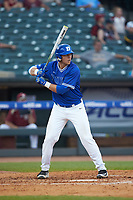 Jack Labosky (6) of the Duke Blue Devils at bat against the Florida State Seminoles in the first semifinal of the 2017 ACC Baseball Championship at Louisville Slugger Field on May 27, 2017 in Louisville, Kentucky. The Seminoles defeated the Blue Devils 5-1. (Brian Westerholt/Four Seam Images)