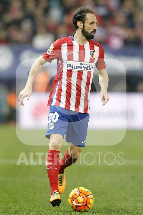 Atletico de Madrid's Juanfran Torres during La Liga match. February 21,2016. (ALTERPHOTOS/Acero)