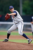 July 30, 2009:  Pitcher Brandon Holden of the State College Spikes during a game at Russell Diethrick Park in Jamestown, NY.  State College is the NY-Penn League Short-Season Class-A affiliate of the Pittsburgh Pirates.  Photo By Mike Janes/Four Seam Images