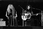 Led Zeppelin 1971 Robert Plant and Jimmy page..© Chris Walter..