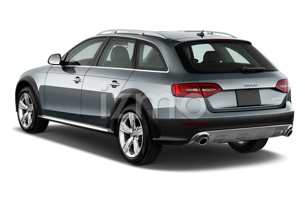 Car pictures of rear three quarter view of 2013-2016 Audi A4 Allroad Premium Quattro 4 Door Wagon angular rear